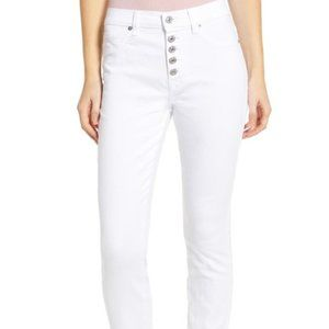 7 For All Mankind – Button Fly High Waist 30